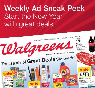 Weekly Ad Sneak Peak Start the New Year with great deals.