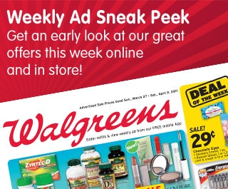 Weekly Ad Sneak Peek. Get an early look at our great offers this week online and in store!