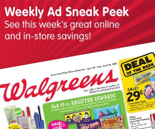 Weekly Ad Sneak Peek. See this week's great online and in-store savings!