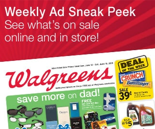 Weekly Ad Sneak Peek See what's on sale online and in store!