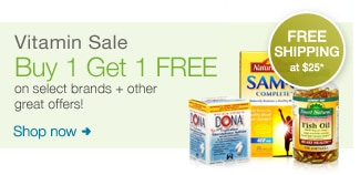 Vitamin Sale. Buy 1, Get 1 FREE on select brands + other great offers!  Shop now.
