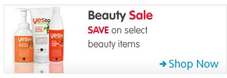 Beauty Sale SAVE on select beauty items Shop Now >