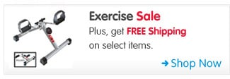 Exercise Sale Plus, get FREE Shipping on select items. Shop Now >