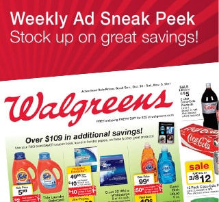Weekly Ad Sneak Peek. Stock up on great savings!
