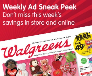 Weekly Ad Sneak Peek. Don't miss this week's savings in store and online
