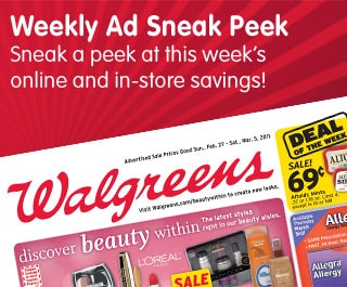 Weekly Ad Sneak Peek. Sneak a peek at this week's online and in-store savings!