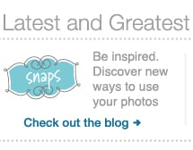 Be inspired. Discover new ways to use your photos. Check out the blog